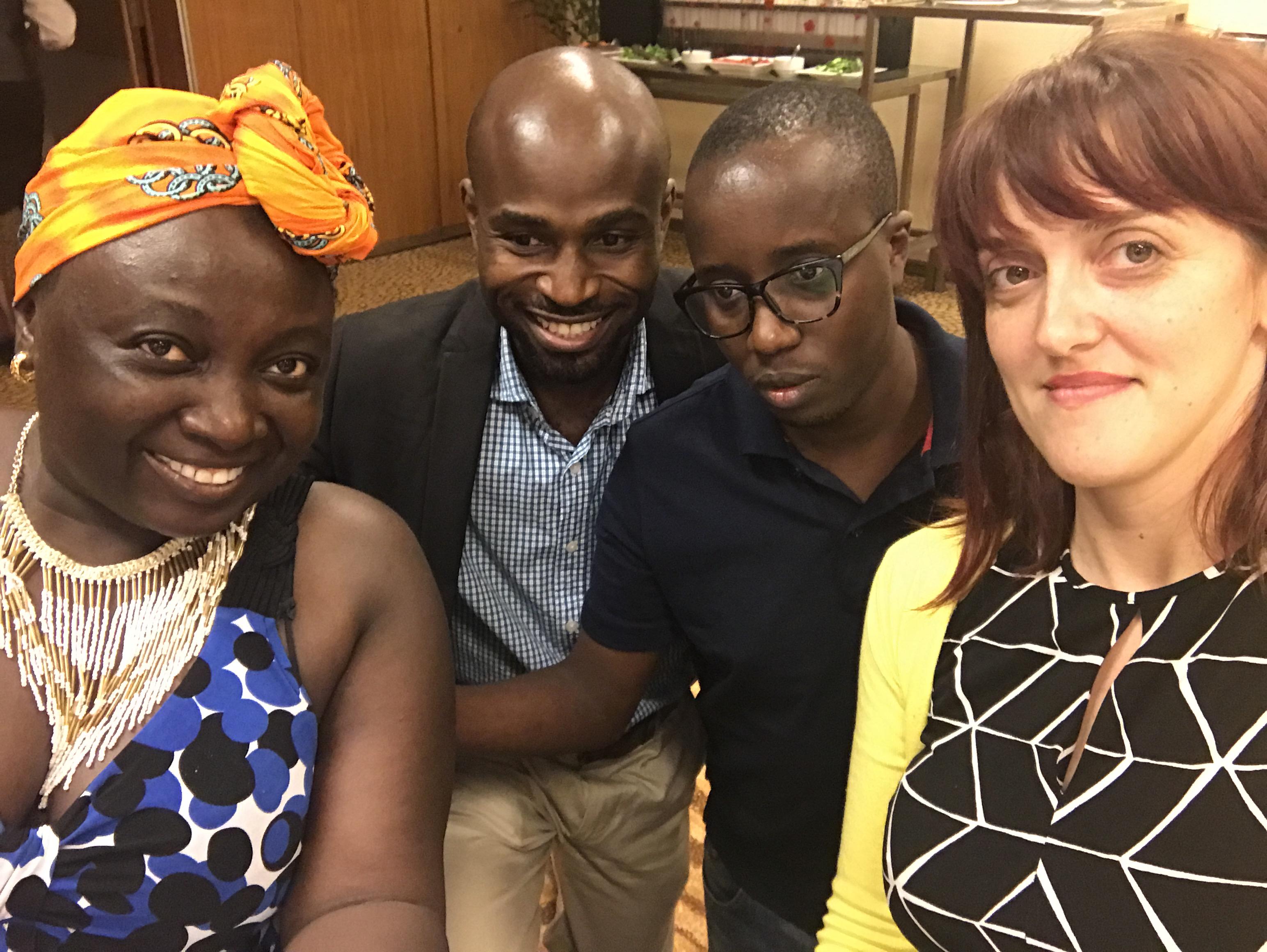 Selfies at #ICT4SI17