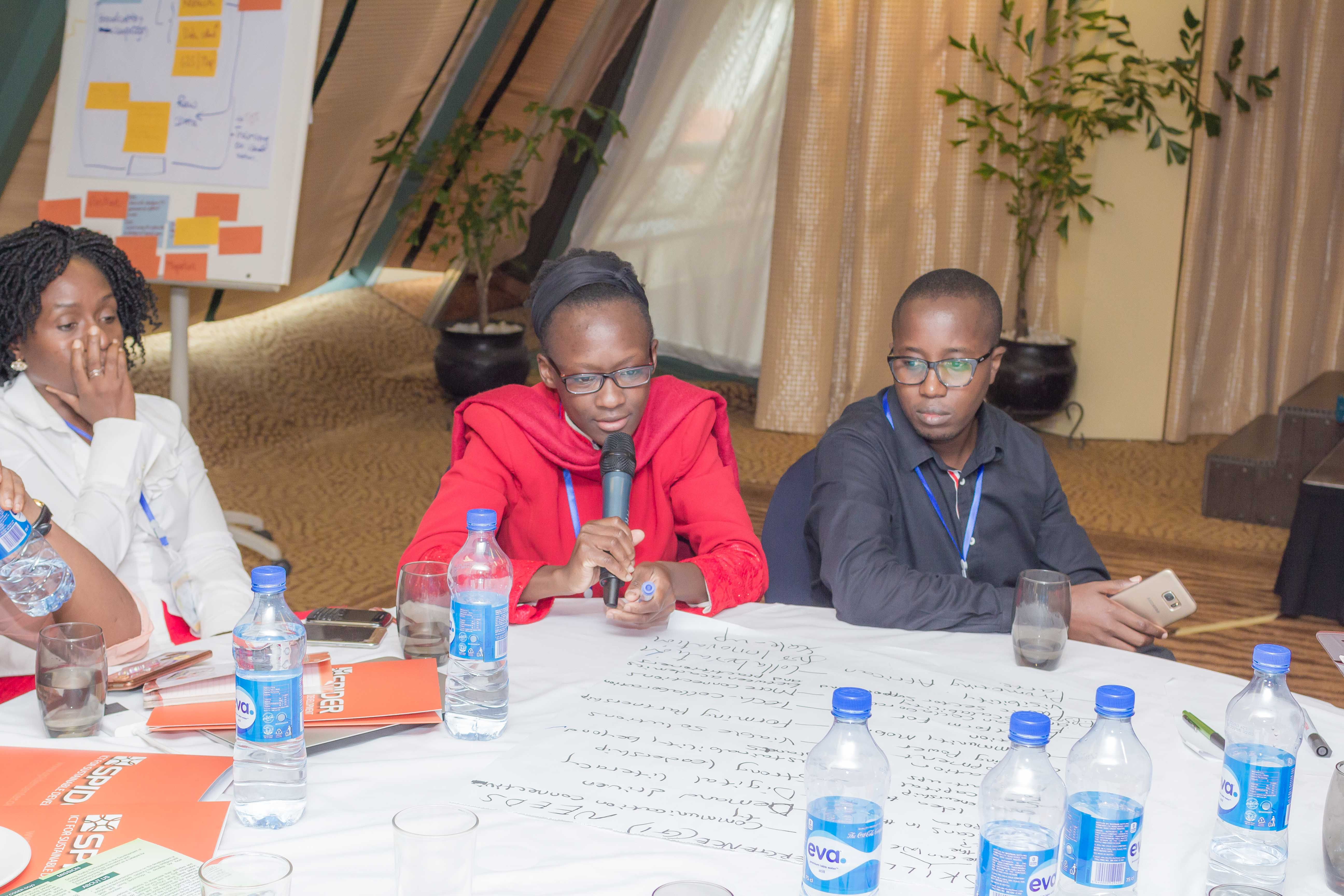 Nasubo Ongoma from iHub Kenya